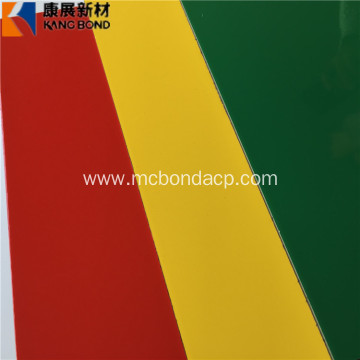 3MM 4MM PVDF Coating Aluminium Composite Panel